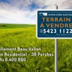 Terrain a Vendre_beau vallon - 39P